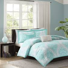 large size of beautiful chic aqua teal light blue grey soft comforter set gray and white