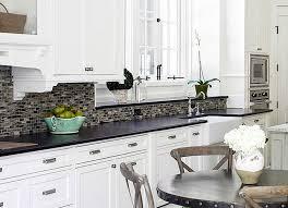 kitchen backsplash white cabinets. Image Of: Charming Black And White Kitchen Backsplash Ideas Cabinets H
