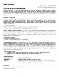 Support Engineer Job Description 20 It Sample Resume 5 Desktop ...