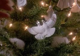 Set of 2 Turtle Dove Ornaments - As Seen in Home Alone 2 by Home Alone:  Amazon.co.uk: Kitchen & Home