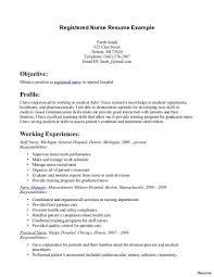 Registered Nurse Resume Example Best of Rn Resume Templates Med Resume Examples 24 R N Road Fords Tel Med