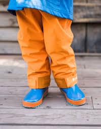 Oakiwear Rain Boots Size Chart Oakiwear Kids Trail Ii Rain Pants Lava Orange Oakiwear Kids Trail Ii Rain Pants Lava Orange
