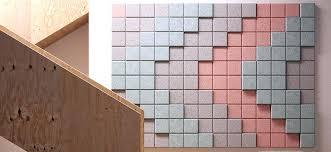 acoustical wall tile