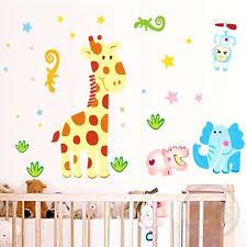 giraffe nursery decor baby room wall decor new cartoon giraffe wall stickers for nursery baby room giraffe nursery decor
