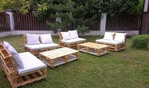 Beautiful Design Recycled Outdoor Furniture Attractive Inspiration Ideas Pallet  Garden Things