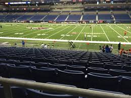 Alamodome Ncaa Basketball Seating Chart Alamodome Section 132 Utsa Football Rateyourseats Com