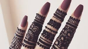 Beautiful Henna Designs For Fingers Beautiful Stylish Finger Mehndi Henna Design For Hands Eid Weddings 2019