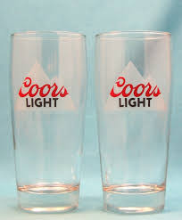 Coors Light Glass Amazon Com Coors Light Frosted Mountains 6in Willi Becher