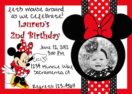 free minnie mouse invitation template minnie mouse nd birthday invitation wording stunning mouse birthday