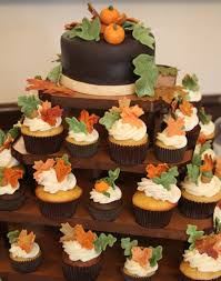 fall wedding cupcakes. Exellent Cupcakes Fall Themed Wedding Cupcakes And L