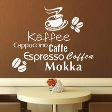 Coffee Decor For Kitchen Online Get Cheap Cappuccino Kitchen Decor Aliexpresscom
