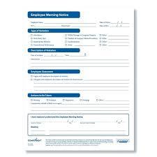 Employee Disciplinary Write Up Employee Write Up Form With Free Disciplinary Company