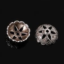 <b>High Quality</b> 5*15mm <b>10pcs Antique</b> Silver Plated Zinc Alloy <b>End</b> ...