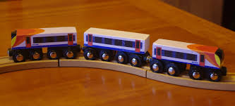 here s the end result my custom brio style toy southwest trains desiro cl 444
