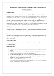 college essays thesis in community health nursing role of community nursing essay 709 words