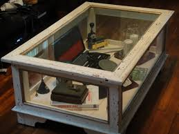 Coffee Table Display Case