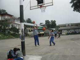 girls play basketball in dharmsala jpg essay on the second great awakening