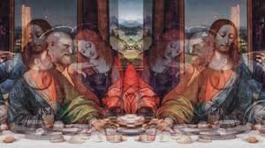 no audio reptilians and other beings at the table of leonardo s last supper you