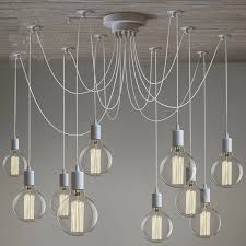 fancy hanging bulb chandelier get with plans 14