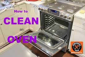 how to clean an oven home repair tutor