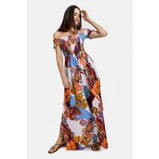 <b>Off</b> The <b>Shoulder Maxi</b> Dress - Shop New In - Ladies