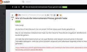 Dear @ab164 when i was new here i did a lot of research about this that who invented the btc. German Student Makes Fun Of The Media Invented Early News About Bitcoin Purchase At Tesla Newsabc Net