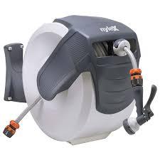 automatic garden hose reel.  Hose Nylex Automatic Hose Reel 30m For Garden L