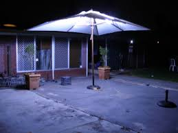 picture of led outdoor umbrella lighting