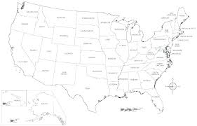 Coloring Sheet 50 States Us Map Coloring Page Big Blank Of The