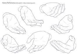 Moa On Twitter お知らせトレスokな手のイラスト資料集に腰に手