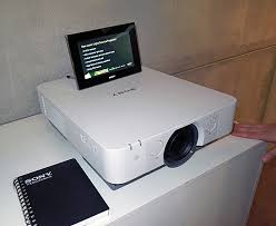 sony laser projector. sony\u0027s laser-powered 3lcd projector will have its coming-out party in two weeks sony laser