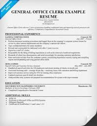 Modern Clerical Resume - Kleo.beachfix.co