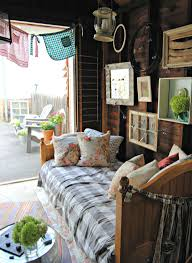 Hang Out Room Ideas The Painted Home She Shed How To Decorate Your Garage