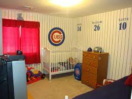 toddler son s room chicago cubs