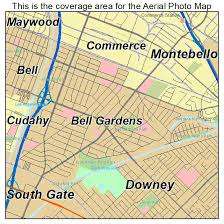 bell gardens ca location map