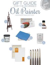 gift guide for the beginner oil painter oil painting suppliesoil