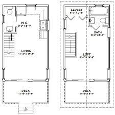 12x20 house w loft 12x20h1 460 sq ft excellent floor plans