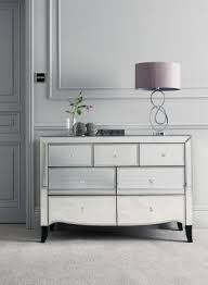 Make Your Bedroom Appear Larger With Some Stunning Mirrored Furniture This  Gatsby Wide Chest From Pinterest