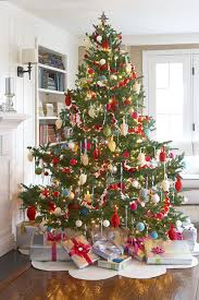 Creative christmas tree toppers ideas try Ornaments Felt Christmas Tree Skirt Christmas Decoration Ideas Good Housekeeping 30 Decorated Christmas Tree Ideas Pictures Of Christmas Tree