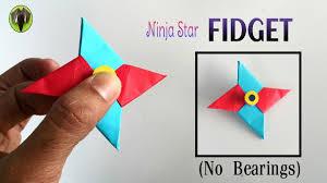 fascinating folding paper star ninja star fidget spinner handmade diy tutorial by paper