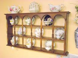 Cup Stands For Displaying Cups And Saucers