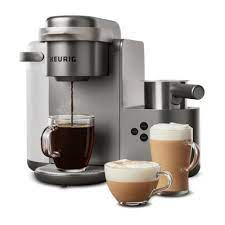 The brewing is very easy to use. K Cafe Special Edition Single Serve Coffee Latte Cappuccino Maker