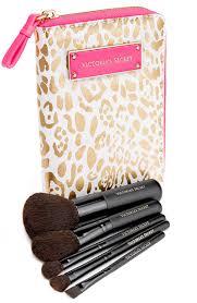 victoria s secret golden leopard brush set
