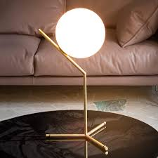 ic t1 table lamp by flos brushed brass 3510294 08