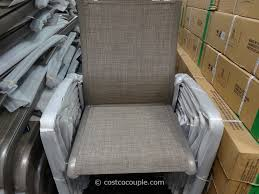 stylish patio chairs costco kirkland signature commercial sling chair outdoor remodel images