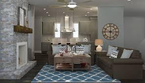 living room modern rustic room ideas zebra rug white wooden table ceramic pedestal gray brown