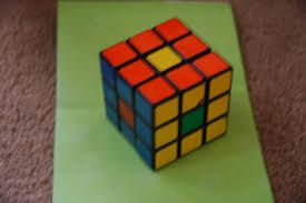 How To Make Designs On Rubik S Cube Rubiks Cube Tricks Center Piece 6 Steps Instructables