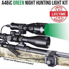 Primos Night Hunting Light Wicked Lights A48ic Green Night Hunting Light Kit For Coyote Hog Fox Bobcat Varmint