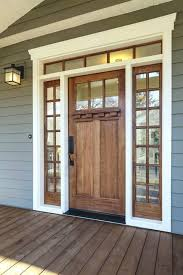 white single front doors. Wood Front Doors With White Trim Wooden Single Door Transom Window