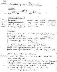 Lab Notebook Example Chem2ob3 Laboratory Notebook